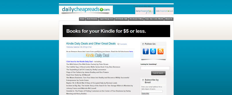 Daily Cheap Reads