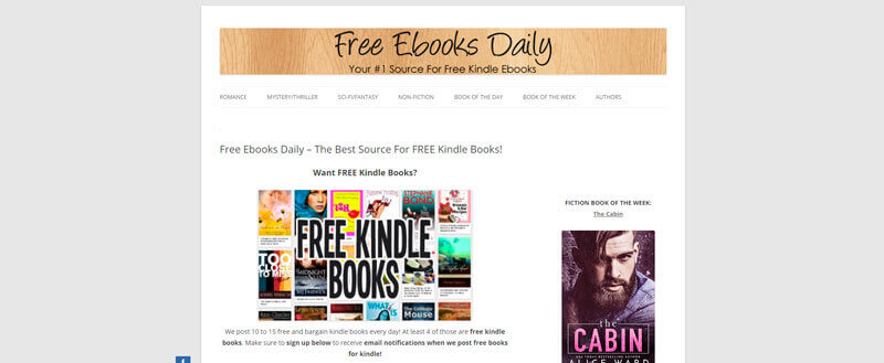 Free Ebooks Daily