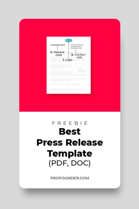 Best Press Release Template in 2019