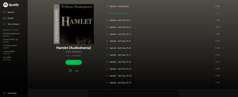 Spotify - Hamlet