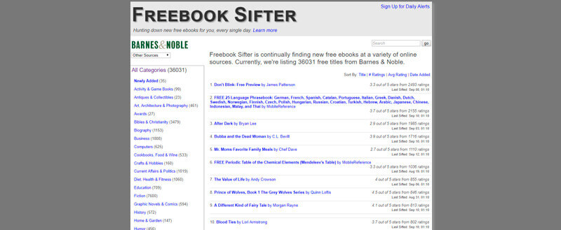 Sifter Freebook