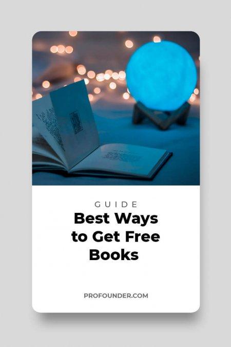 15+ Best Ways to Get Free Books 2019