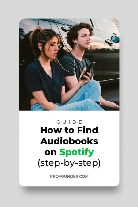 Audiobooks On Spotify: How to Find, step-by-step