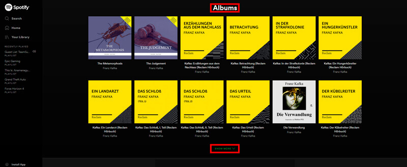 How To Show Spotify Overlay