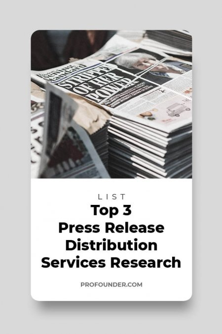 Top 3 Press Release Distribution Services Research