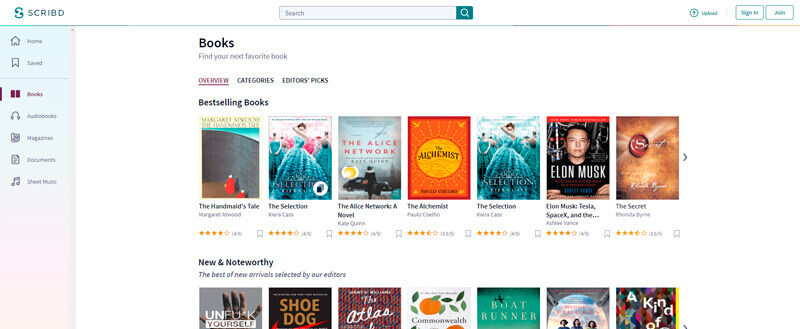Books on Scribd