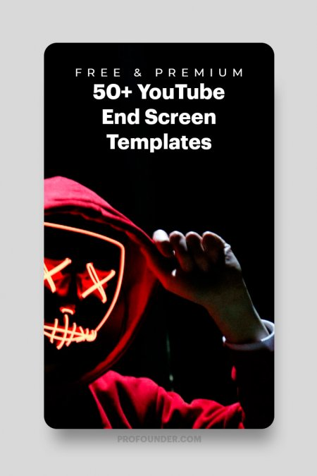 50+ YouTube End Screen Templates to Download